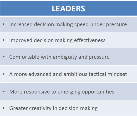 Outcomes Leaders