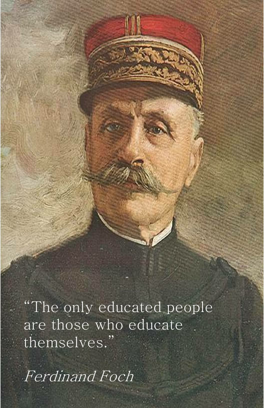 Foch on Education